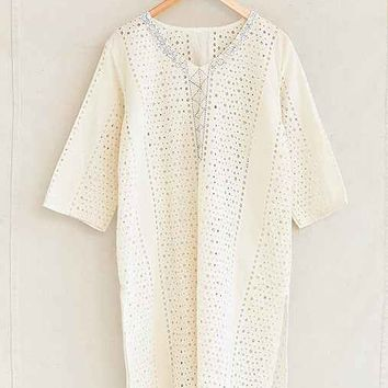 Vintage Embroidered Eyelet Dress- Assorted One