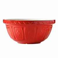 Color Mix Red Mixing Bowls