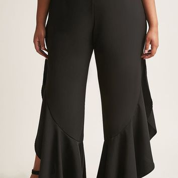 Plus Size Flared Pants