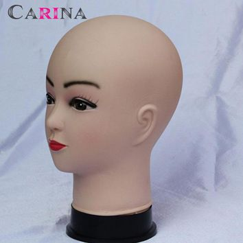 Free Shipping Mannequin Practice Training Heads Dummy Female Soft Cosmetology Mannequin Head For Make Up