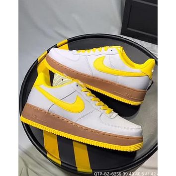 Nike M Air Force 1 2018 summer new Oxford cloth original bottom sneakers  F-CQ ccce03f67