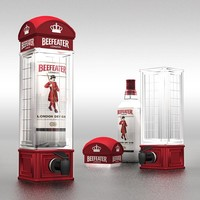Telephone Beer Dispenser Booth Drinking Machine for Pouring Wine , Beer