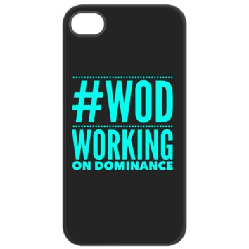 CrossFit #WOD Working On Dominance Phone Case