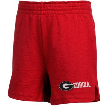 Georgia Bulldogs Youth Girls Soffe Shorts - Red - http://www.shareasale.com/m-pr.cfm?merchantID=7124&userID=1042934&productID=526699518 / Georgia Bulldogs
