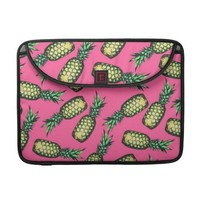 Pineapple Pattern MacBook Pro Sleeve from Zazzle.com