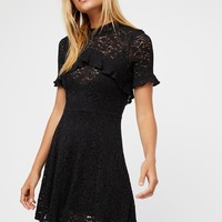 Free People Call Me Pretty Fit & Flare Dress
