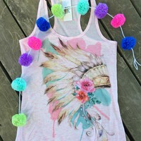 Headdress tank from PeaceLove&Jewels
