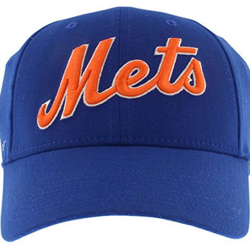 new york mets cap space australia logo fit swoosh flex hat blue