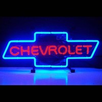 Chevrolet Auto Car Neon Sign