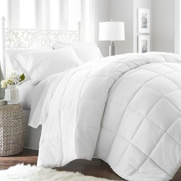 Queen Hypoallergenic Down Alternative Duvet Insert - White - CASE OF 9