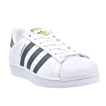 Adidas Superstar Foundation Footwear White Onix Mens Leather Low Top Trainers