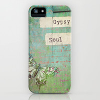 Gypsy Soul iPhone & iPod Case by Ally Coxon
