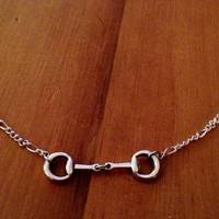 Horse Bit Necklace (Silver)