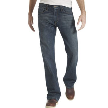 Levi's Mens 527 0504 Overhaul Wash Slim Bootcut Denim Jeans Size 33 X 30