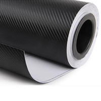 30cmx127cm 3D Carbon Fiber Vinyl Car Wrap Sheet Roll Film Car Stickers And Decals Motorcycle Car styling Accessories 12 colors