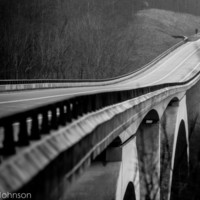 Natchez Trace Parkway Bridge 8 x 10 Fine Art Photography
