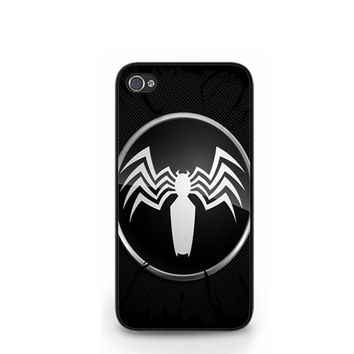 Spiderman Black Venom Logo iPhone 4 4S / iPhone 5 Case Cover