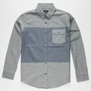 Shouthouse Frisco Mens Shirt Navy  In Sizes