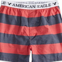 AEO 's Striped Boxer (Red)