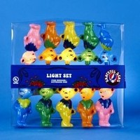 Grateful Dead Dancing Bears String Light Set