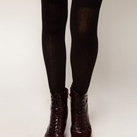 ASOS Ribbed Over The Knee Socks at asos.com