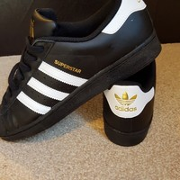 mens adidas superstar size 10