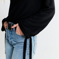 Project Social T Tie-Sleeve Sweatshirt | Urban Outfitters