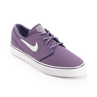 Nike SB Zoom Stefan Janoski Canyon Purple & White Canvas Shoe