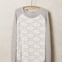 Laceveil Pullover by Knitted & Knotted