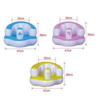 Inflatable Bath Stool Sofa Chair Children Baby