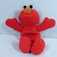 Sesame Street Beans Elmo 1997 Plush Bean Bag Doll