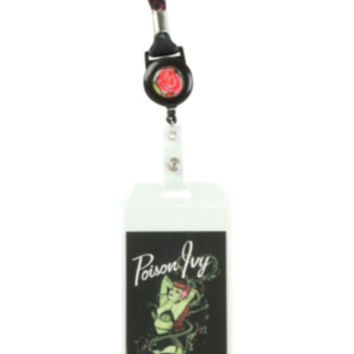 DC Comics Bombshells Poison Ivy Retractable Lanyard