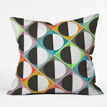 Sharon Turner Eclipse Diamonds Throw Pillow