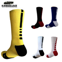 Thicken Towel Outdoor Men's Athletic Socks Fashion Sport Professional Basketball Elite Socks Brand Cycling Bicycle Bike Socks