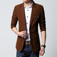 Men's Splice Summer Blazer Up to 6XL