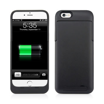 Gearonic 3200mAh Battery Backup Case for Apple iPhone 6 | Overstock.com Shopping - The Best Deals on Accessory Bundles