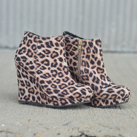 Val Wedge by Qupid {Leopard}