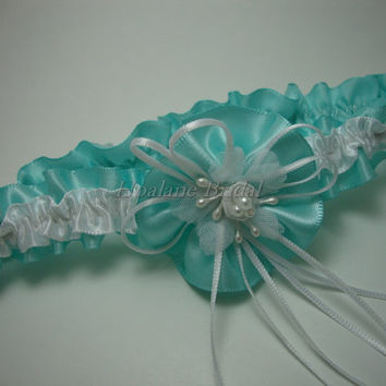 Garter, Satin Ribbon Garter, Toss Garter, Wedding Garter, Bridal Garter