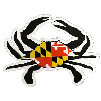 Maryland Flag Crab / *Indoor Use Only* Magnet