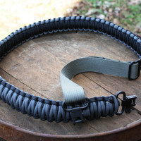 Adjustable King Cobra Paracord Rifle Gun Sling Strap by cjbpara