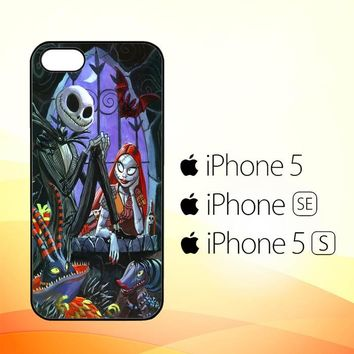 JACK AND SALLY V1932  iPhone 5|5S|SE Case