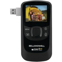 Bell+howell 5.0 Megapixel 1080p Take1hd Digital Video Camcorder With Flip-out Usb (black)