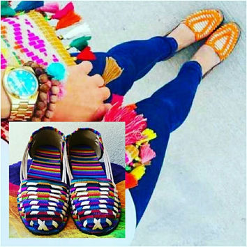 Leather Ethnic Sandals