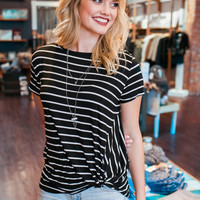 Twisted Top - Black