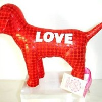 Victoria's Secret Pink Metallic Mini Dog Red Love 09, Brand New with Tag
