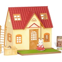 Calico Critter COZY COTTAGE HOUSE w Furniture, Accessories & Rabbit ~NEW~