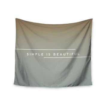 "Galaxy Eyes ""Simple Beautiful"" Wall Tapestry"