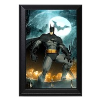 Batman Comic Book Superheros Geeky Wall Plaque Key Holder Hanger