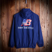 NEW BALANCE Windbreaker Hip-hop Sports Rashguard Jacket [9231075207]