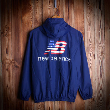 NEW BALANCE Windbreaker Hip-hop Sports Rashguard Jacket [8740744972]
